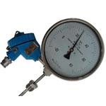 带防爆熱電阻雙金屬溫度計